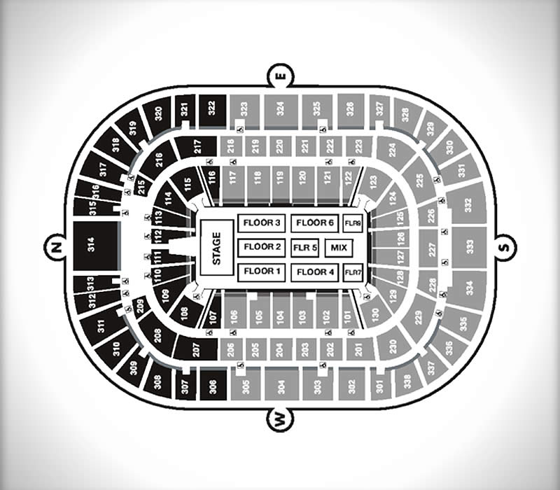 Seating Charts | Pnc Arena