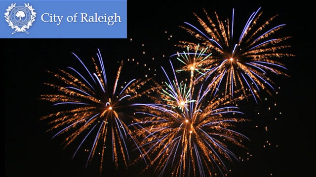 City of Raleigh - 4th of July Fireworks Display