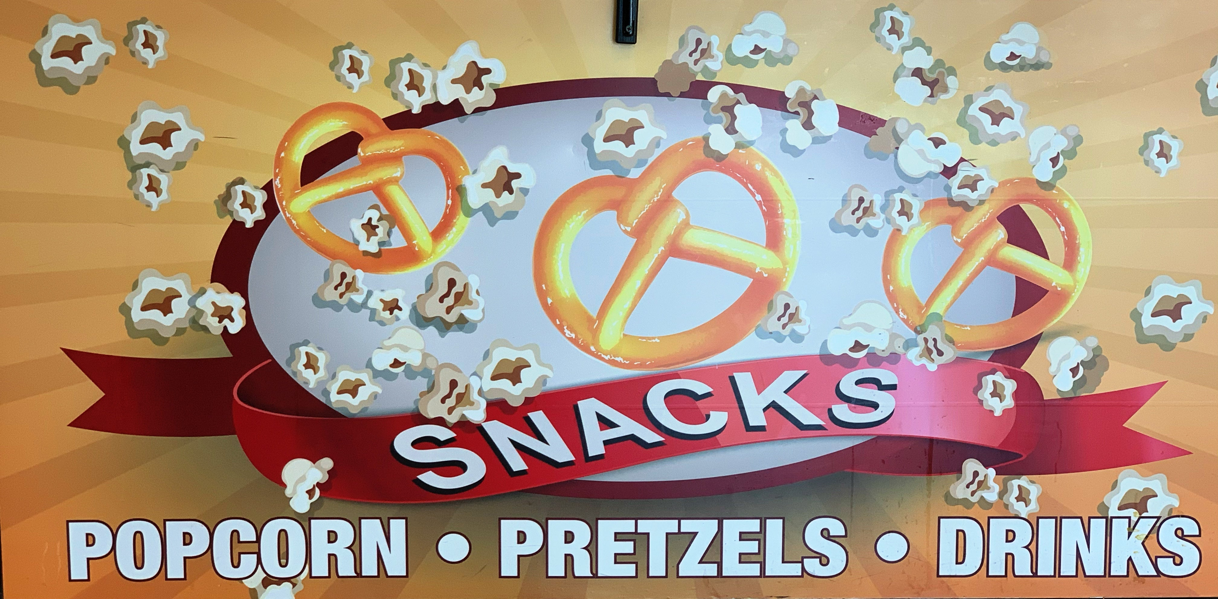 Popcorn & Pretzels: Sections 103, 118, 325