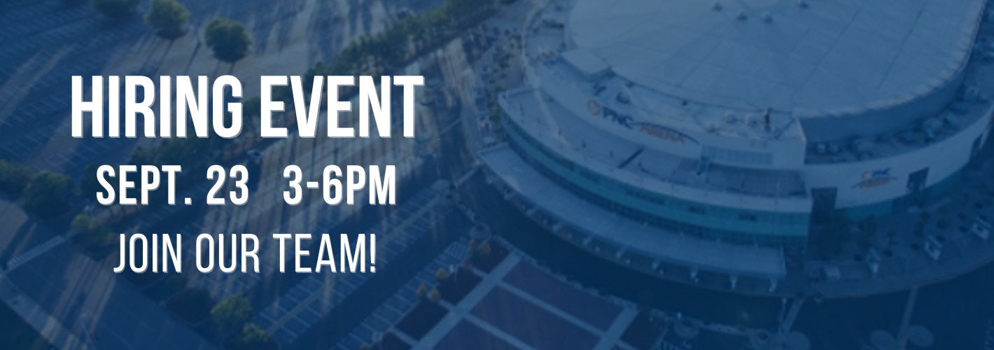 PNC Arena Hiring Event