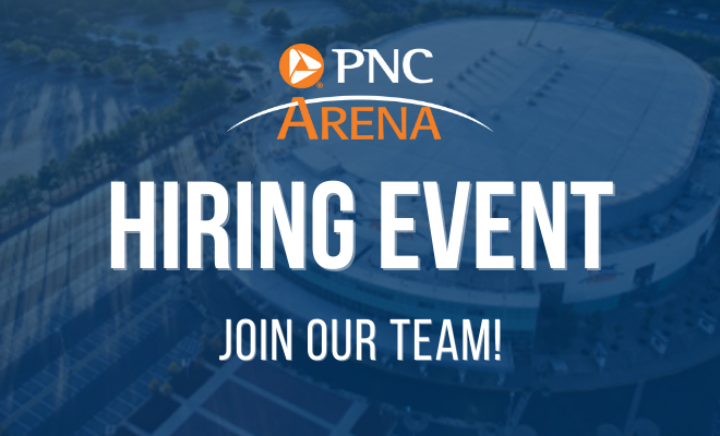 More Info for PNC Arena Hiring Event