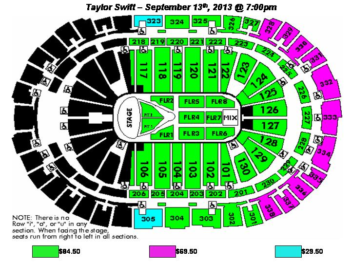 Taylor Swift Pnc Arena